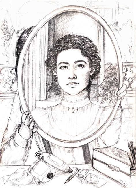 Anna in the mirror