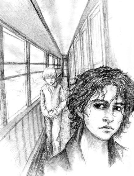 Jon in Corridor