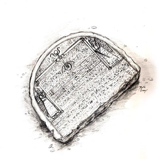 The translation stone